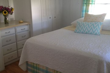 mobile home bedrooms - Pam Brittons 1972 sw bedroom redo in $1000 mobile home