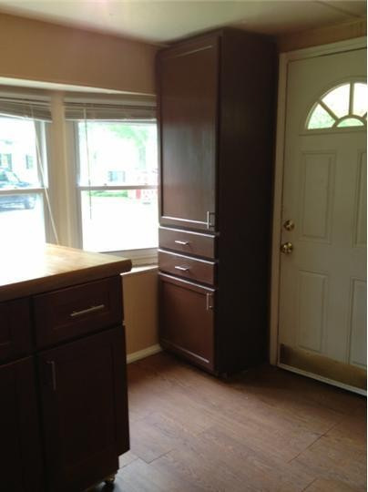 before mobile home remodel
