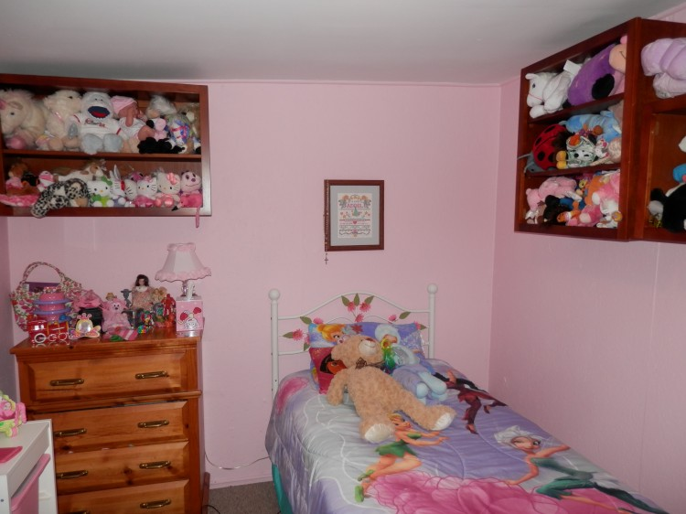 girls bedroom after remodel