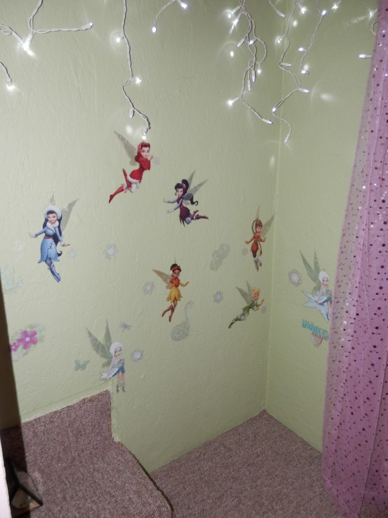 childs secret room makeover