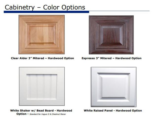 Smart upgrades to make when buying a new manufactured home - (cabinet color options for 2015 manufactured homes from fleetwood