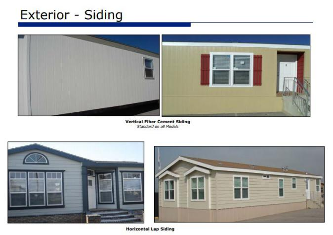 smart upgrades to make when buying a new manufactured home - exterior siding - (8)