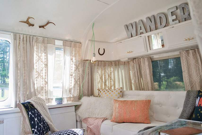15 awesome airstream interiors for Airstream decor