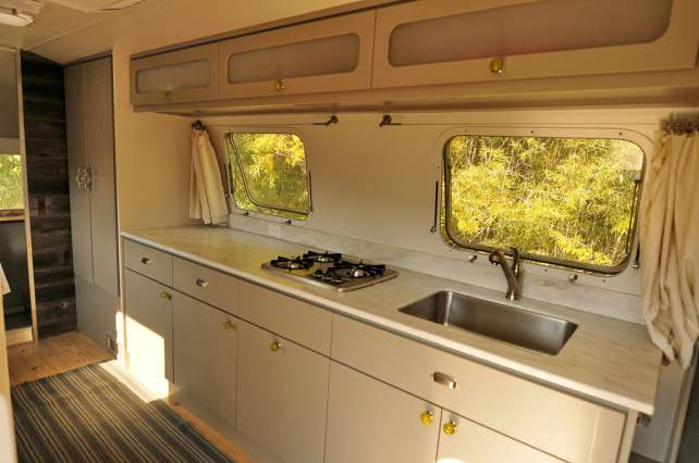 awesome airstream interiors - simplicity kitchen
