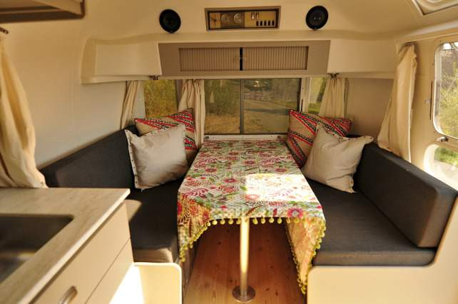 awesome airstream interiors - Simplicity dining