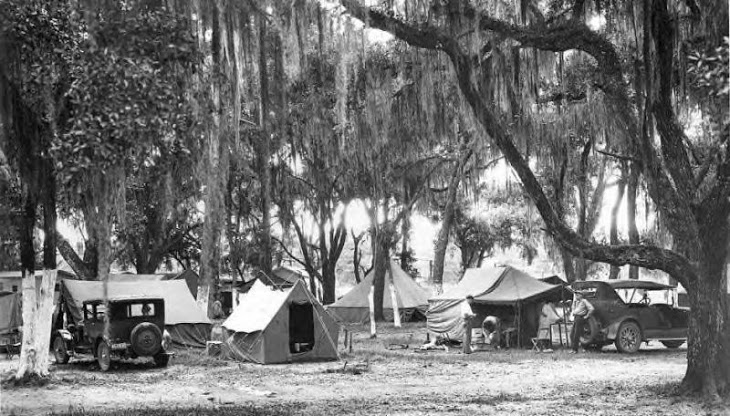 1928 tent camp grounds mredsewingroom
