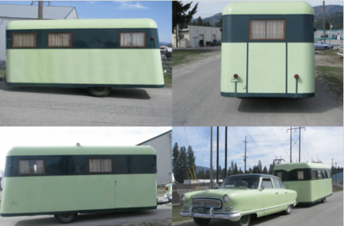 Vintage trailers are popular restoration projects
