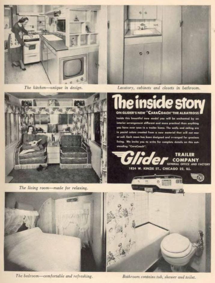 1953 Glider Mobile Home