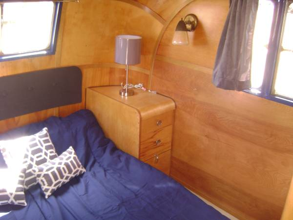 1953 Vagabond Trailer-1953 Vagabond Model 31 Interior -Bedroom 2