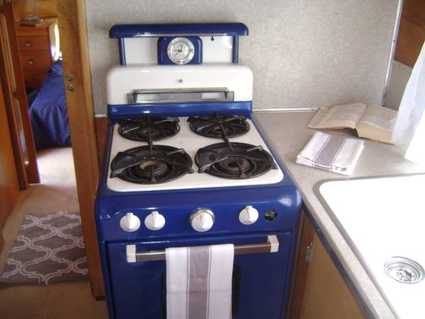 1953 Vagabond Trailer-1953 Vagabond Model 31 Interior - Kitchen 2