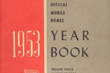 1953 Yearbook Cover Page