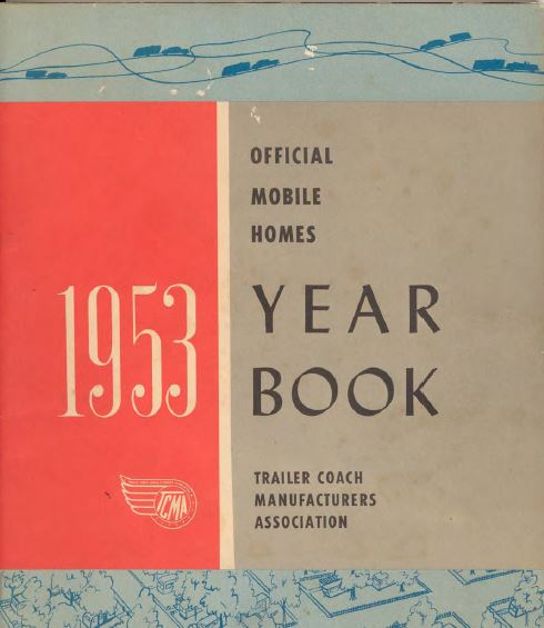 1953 mobile homes - Yearbook Cover Page