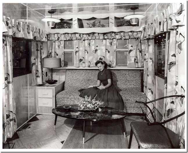 A look back at trailer shows of the past mobile home living - Vintage look mobel ...