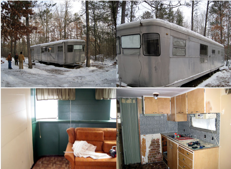 Awesome 1955 Spartan Imperial Mansion Remodel | Mobile Home