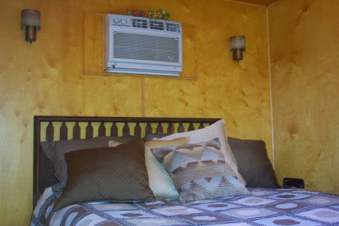 1957 Casa Manana mobile home- Master bedroom 2
