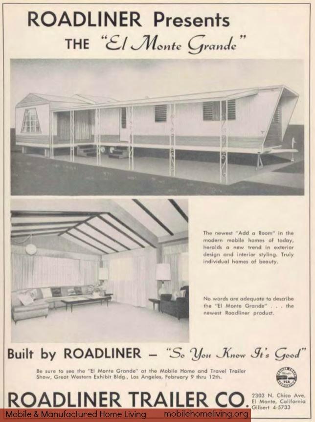 vintage mobile homes-1961 el monte