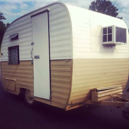Great Craigslist Vintage Travel Trailers For Sale 1963 13 Mobile Scout Exterior