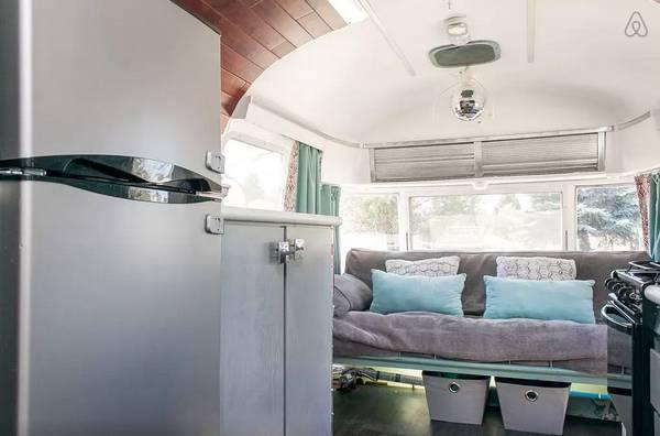 1976 argosy camper remodel - living area update