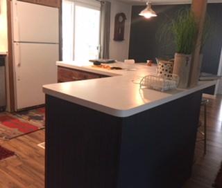 1978 double wide- open kitchen