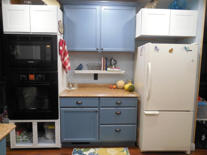 1979 mobile home kitchen makeover - finished 2