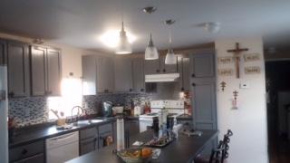 1979 single wide transformation kitchen after remodel