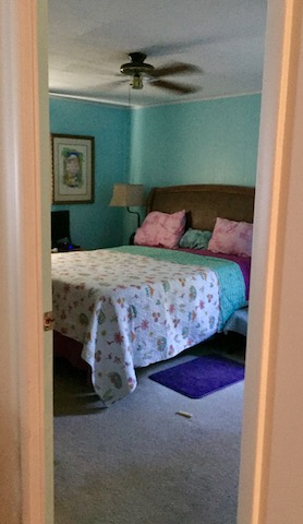 1986 palm harbor single wide makeover - bedroom