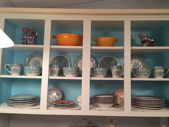 1986 palm harbor single wide makeover - kitchen cabinets painted