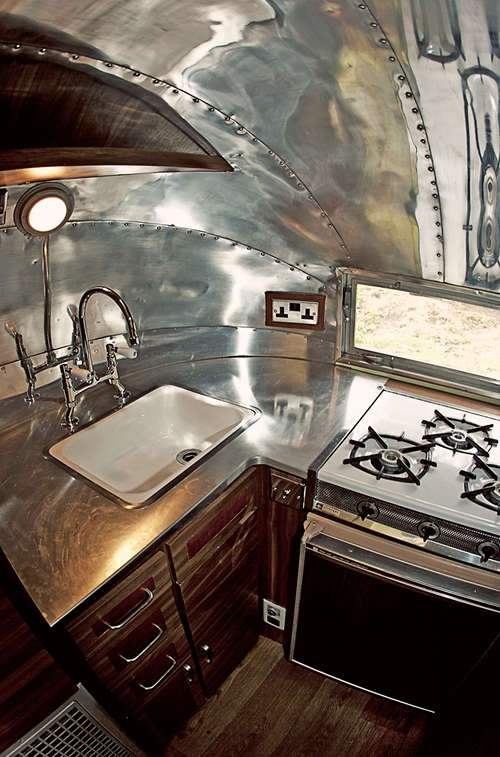 15 awesome airstream interiors for Awesome home interiors