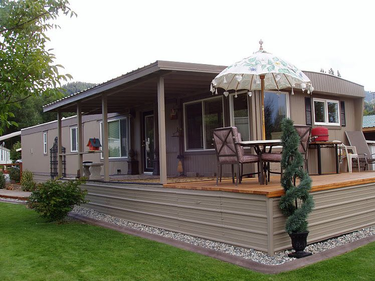 The best mobile home remodel ever for Remodeling a modular home