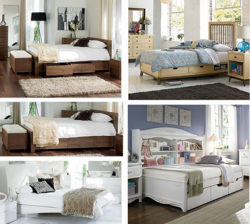 Beautiful space saving bedroom ideas mobile home living - Space saving ideas for small bedrooms ...