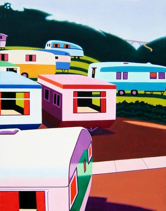 mobile home art - painting