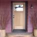 interior designer updates double wide - complete exterior after new front door