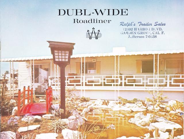 Dubl-wide roadliner brochure - cover - Expandable Mobile Homes