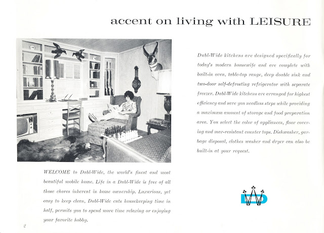 Dubl-wide Roadliner brochure - page 2 - Expandable Mobile Homes