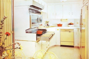 expandable mobile homes - kitchen