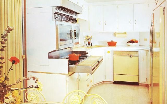 expandable mobile homes - kitchen