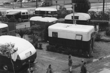 Ansel Adams vintage mobile homes