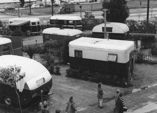 trailers-Ansel Adams vintage mobile homes