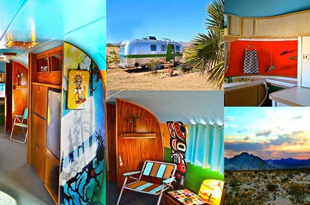 Kate's Lazy Desert Airstream motel