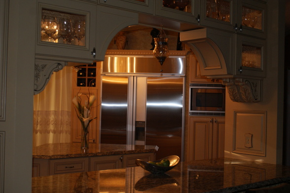gourmet kitchen in a manufactured home - high-end appliances