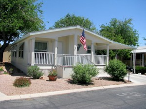 mobile home park landscaping ideas