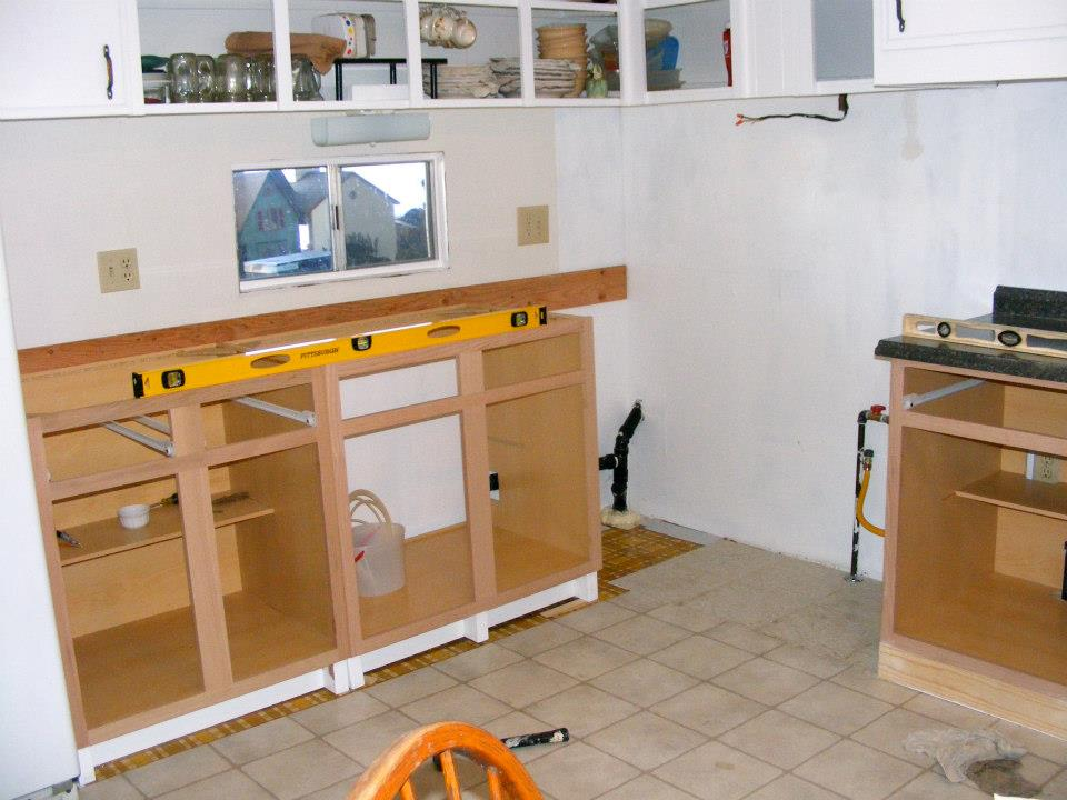 single wide mobile home kitchen remodel