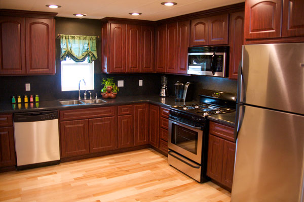 25 great mobile home room ideas mobile and manufactured for Old home kitchen remodel
