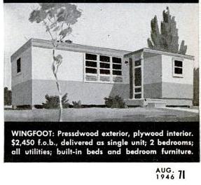 Vintage Views: Wingfoot Homes