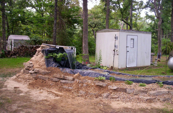 mobile home landscaping water features
