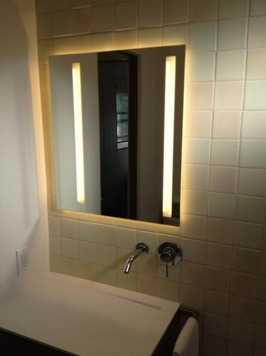 modern cabinetry in a bathroom