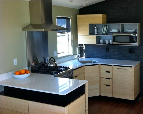 A modern single wide remodel mobile home living for 70s kitchen remodel ideas