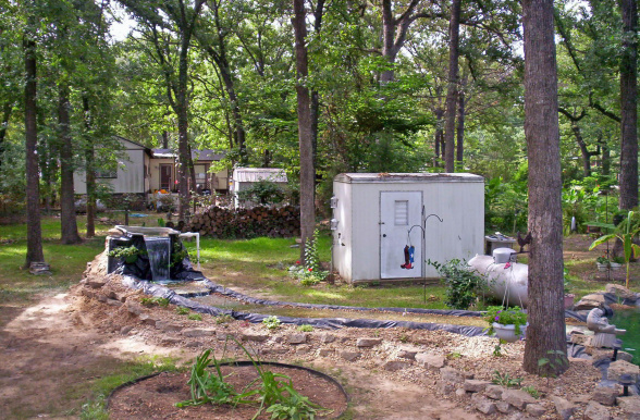 Water Features For Mobile Home Landscaping