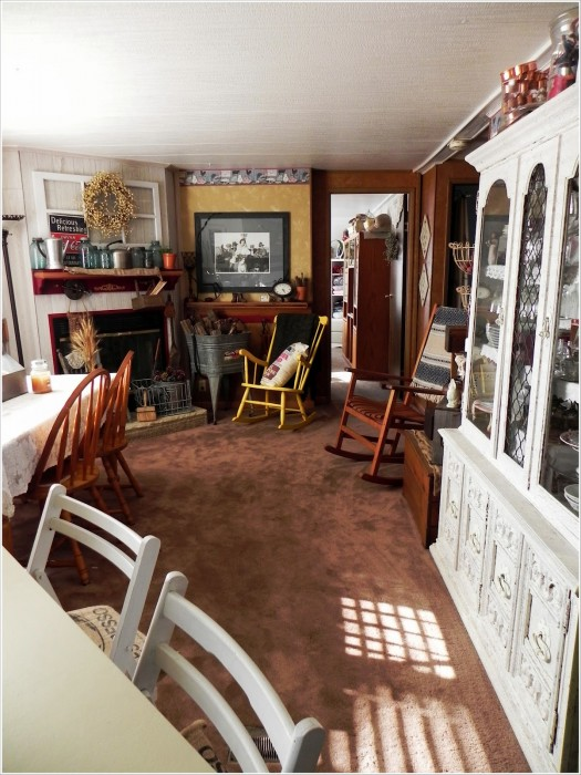 Dining room ideas for a mobile home