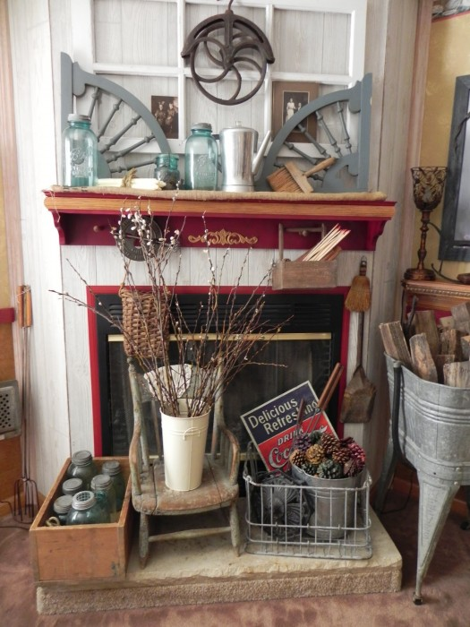 beautiful shabby chic mobile home decor - after double wide makeover